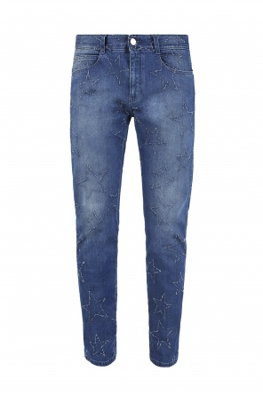 Jeans with stars od Stella McCartney
